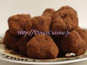 Truffes fruits rouges