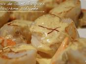 Saint Jacques crème safranée