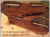 Turron biscuits style Oréo (Thermomix) Turrón galletas tipo Oreo