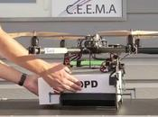 Poste expérimente livraison colis avec drones