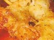 Brochettes crevettes bleues noix coco