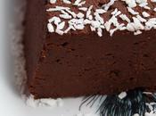 Terrine chocolat crème châtaigne (vegan)