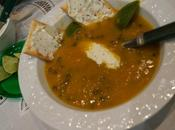 Soupe Lentilles Topping Fromage Fines Herbes