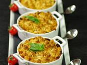 PETITS CRUMBLES INDIVIDUELS TOMATE, CHEVRE BASILIC
