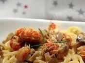 Spaghetti écrevisses