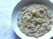 Recette risotto poires gorgonzola