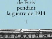 14-18, guerre d'un bourgeois Paris
