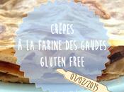 Crêpes farine gaudes. Gluten Free