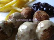 Boulettes viande suédoise, sauce crème comme chez Ikea