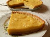 Tarte citron, pâte l'amande (Vegan)