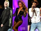 Grammy Awards 2015 Beyoncé, Pharrell Smith triomphent, palmarès complet