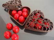 Chocolats fins cerises l'eau ganache kirsh