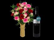 Saint-Valentin cadeau pour Elle coffret Petit Ballon Bouquet