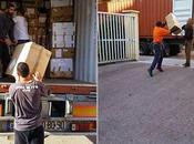 Palestine Israël bloque menace détruire tonnes d'aide humanitaire provenance France