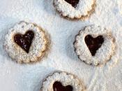 Joyeuse Saint-Valentin Biscuits cœur confiture