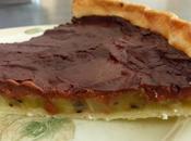 Tarte chocolat kiwi