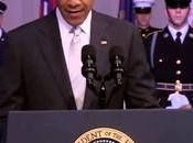Barack Obama reste sans voix lors d'un discours