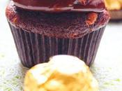 Cupcakes chocolat & Ferrero rocher