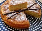 Gâteau magique vanille.