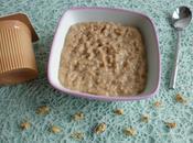 porridge noisette amande protéines soja psyllium (riche fibres, sans gluten lait)