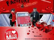 Saint-Valentin Mons2015,Facteur d'Amour,Pechakucha Faites l'amour guerre Triobalade