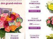 Bonne fête mémé: sites livraison fleurs loupe