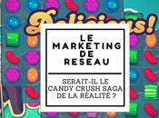 Marketing Réseau serait-il Candy Crush Saga réalité