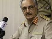 commandant général l'armée libyenne, Khalifa Haftar, «coordonne avec Israël»