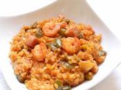 Recette Jambalaya crevettes