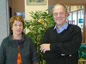 Election départementale Saint Flour1 Aline Hugonnet, maire ROFFIAC Didier Achalme Massiac