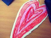 cœur dessiné l'anniversaire d'Irina