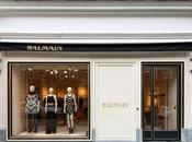 L'ouverture première boutique Balmain Londres...