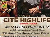 Takoradi, concert Cite Highlife Dela Botri Mars 2015