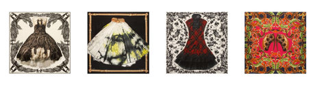 Mode collection foulards Alexander McQueen