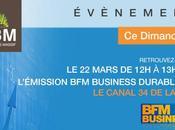 Evènement Retrouvez-nous Dimanche Mars 2015 dans l'émission business durable