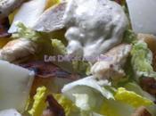 Salade César sauce vinaigrette