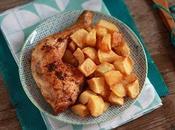 Cuisses Poulet Rôties déjeuner Samedi
