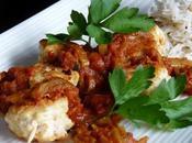 Brochettes poulet, sauce massalee pimentee (ile reunion)