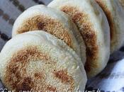 Muffins anglais lait soja, pâte levée, pour brunch goûter