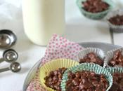 Bouchées végétales chocolat soufflé
