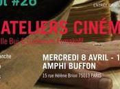 CinéDiderot Spécial Atelier Cinéma avril