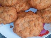 Cookies noix coco orange sanguine