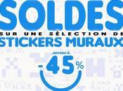 SOLDES: jusqu'à -45% Stickers Muraux Géants!