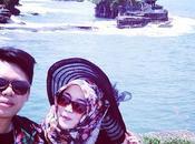 Romance lune miel Indonésie