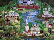 Salon patchwork Russie