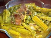 Tajine cardons olives
