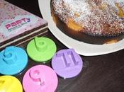 Gâteau yaourt pêche