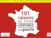 2012-2013 d'action service Français.101 raisons faire confiance Gauche