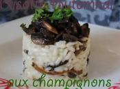 Risotto Automnal champignons