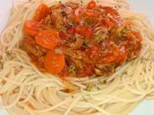 Spaghetti moules carottes